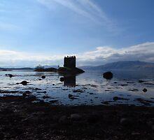 Castle Stalker, Western Scotland by wiggyofipswich