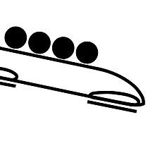 Bobsleigh Pictogram  by abbeyz71