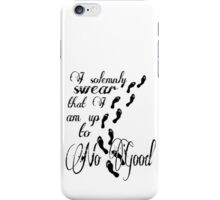 I Solomnly Swear... iPhone Case/Skin