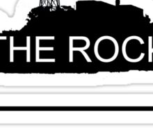 The Rock Sticker