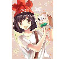 Pokemon Moon/Sun - Rowlet Photographic Print