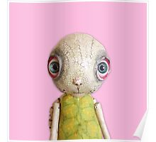 Sheldon The Turtle - Pink Poster