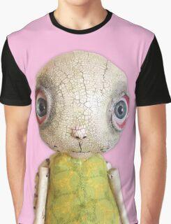 Sheldon The Turtle - Pink Graphic T-Shirt