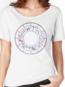 Zodiac Wheel Women's Relaxed Fit T-Shirt