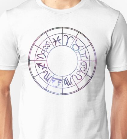 Zodiac Wheel Unisex T-Shirt