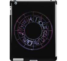 Zodiac Wheel iPad Case/Skin