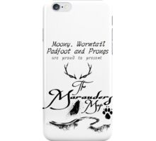 The Marauders Map... iPhone Case/Skin