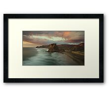 Lion Rock Sunset Framed Print