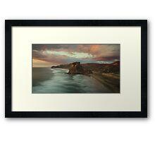 Lion Rock Sunset Framed Print