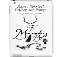 The Marauders Map... iPad Case/Skin
