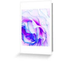Neon floral detail Greeting Card
