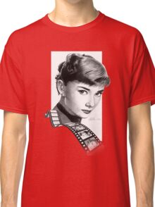 Hollywood stars: Audrey Hepburn Classic T-Shirt
