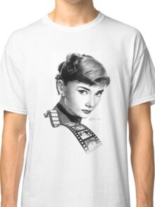 Hollywood stars: Audrey Hepburn Classic T-Shirt