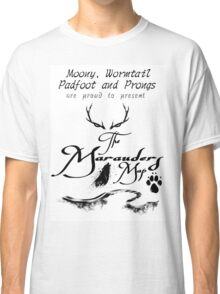 The Marauders Map... Classic T-Shirt