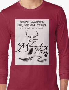 The Marauders Map... Long Sleeve T-Shirt