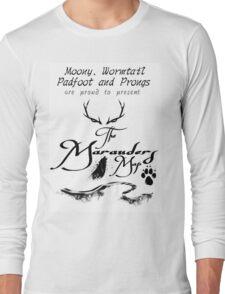 The Marauders Map... Long Sleeve T-Shirt