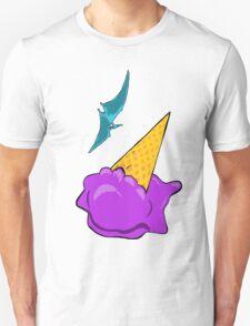 Pterodactyl Ice Cream Dive T-Shirt