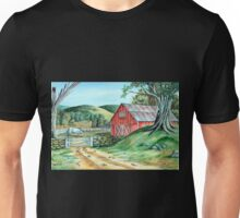 Spring Landscape (on craft foam) Unisex T-Shirt