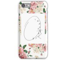 Clock Phone Case Floral iPhone Case/Skin