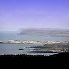 Portstewart Town  and Beyond from Benevenagh Mountain Co.Derry, Ireland by mikequigley