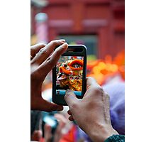 Chinese New Year dragon iPhone Photographic Print