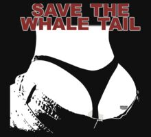 Save The Whale Tail by UrbanDeploymen