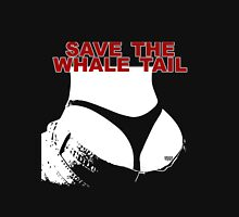 Save The Whale Tail Unisex T-Shirt