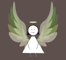 Angel in Green One Piece - Short Sleeve