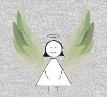 Angel in Green One Piece - Long Sleeve