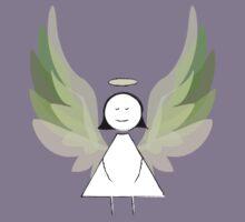 Angel in Green Kids Tee