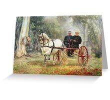 Bushland Poppies Greeting Card