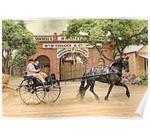 Friesian Folly Poster
