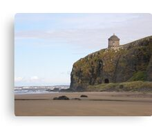 Mussenden Temple (With Railway Tunnel) Co Derry, Ireland   Canvas Print