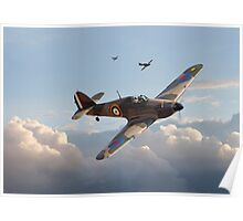 Hurricane - Fighter Sweep Poster