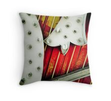 Neon Bulbs Throw Pillow