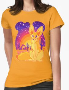 Fennec Fox Womens Fitted T-Shirt