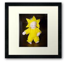 Starlight Child Framed Print