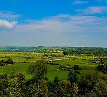The view from the Keep, Arundel Castle, Sussex, UK by ADayToRemember