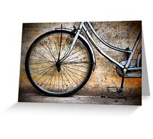 Cambodia Vintage Bicycle Greeting Card