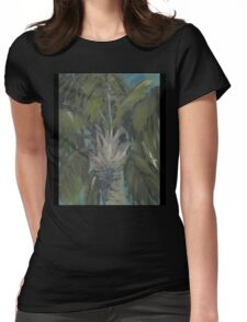 Portrait of a Palm AC151026c-13 Womens Fitted T-Shirt