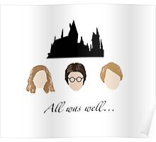 Golden Trio- All was well.. Poster