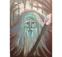 Wizard Wishes Photographic Print