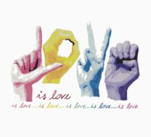 Love is love One Piece - Short Sleeve