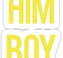 boy bye - Beyonce Sticker