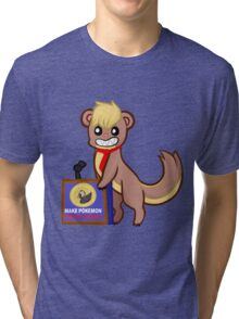 Yungoos for president Tri-blend T-Shirt