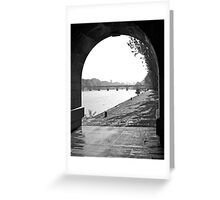 Pont des Arts, Paris Greeting Card