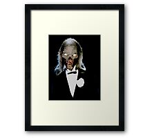 Crypt Keeper Tux Framed Print