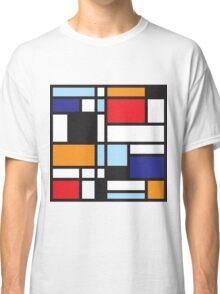 Mondrian Study II Classic T-Shirt