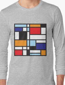 Mondrian Study II Long Sleeve T-Shirt