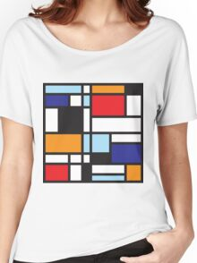 Mondrian Study II Women's Relaxed Fit T-Shirt